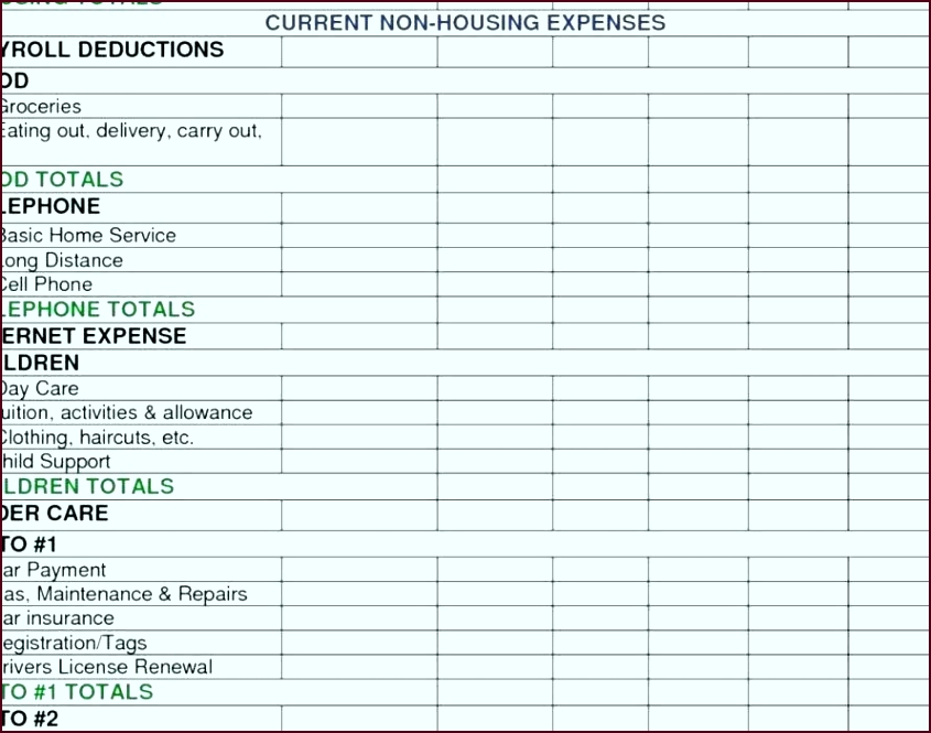 business expense tracker template elegant free tracking spreadsheet in e and excel ihtrt