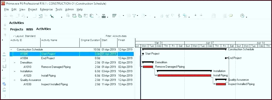 bill of lading template excel new free construction schedule manpower planning inspection test plan rqaot