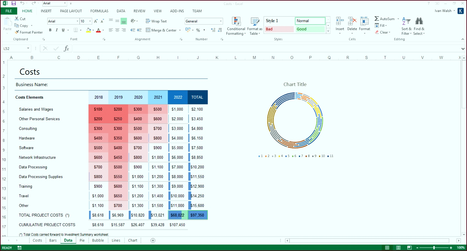 business plan template ms excel 5 eiets