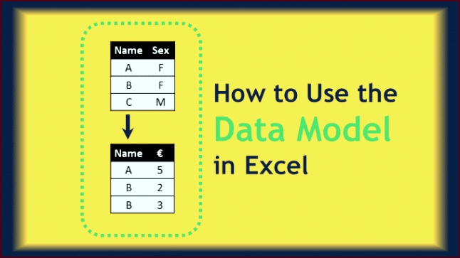 Page Image How to use the data Model in Excel wuyxt