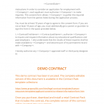 6+ Third Party Consent Form Template