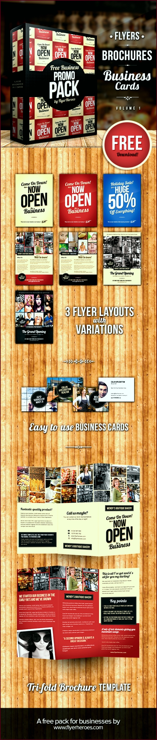 free business flyer and brochure templates uieyt