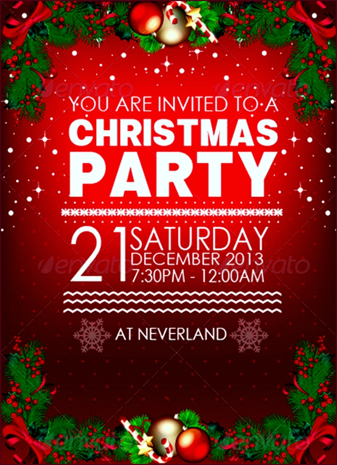 christmas party invitation template christmas party invitation 5b d oytpu