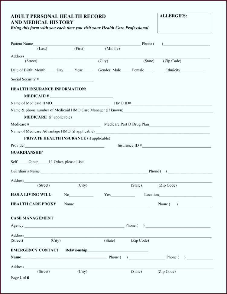 generic medical records request form brilliant personal medical record form of generic medical records request form eweya