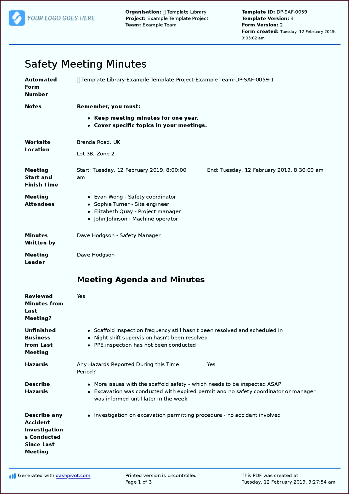 2019 1 11 Safety Meeting Minutes 1 page 001 iztty