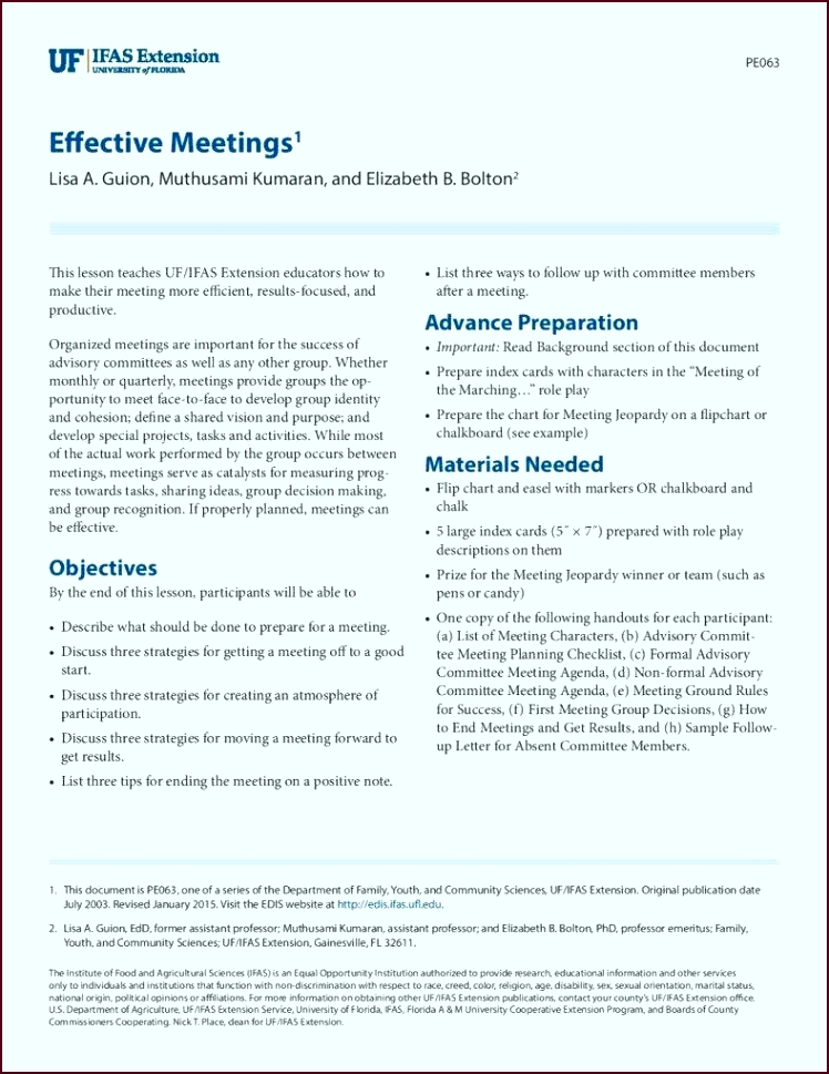 Sample Effective Meeting Agenda Template for Formal and Informal Meeting page 001 788x1020 aetew