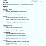 5 Project Meeting Agenda Template