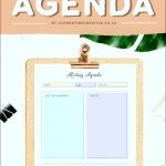 8 Sample Of Meeting Agenda Template