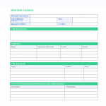 24+ Weekly Staff Meeting Agenda Template