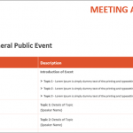 10+ Technical Meeting Agenda Template