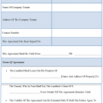 21+ Free Commercial Tenancy Agreement Template
