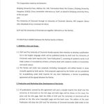17+ Cooperation Agreement Template