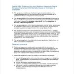 11+ Out Of Court Settlement Agreement Template