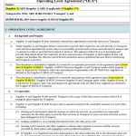 20+ Operational Level Agreement Template