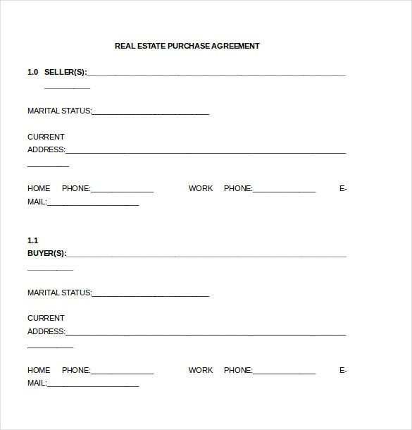 Purchase Agreement Template - 28+ Free Word, PDF Document ...