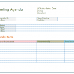 21+ Example Of A Meeting Agenda Template