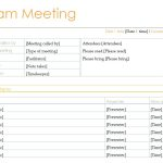 7+ Production Meeting Agenda Template