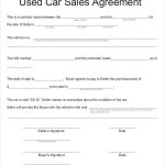 15+ Auto Purchase Agreement Template