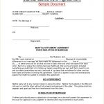 17+ Property Settlement Agreement Template