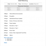 25+ How To Plan A Meeting Agenda Template
