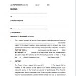 9+ Landlord Tenancy Agreement Template Free