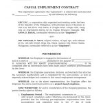 20+ Employment Contract Template Doc