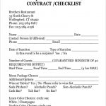 11+ Contract For Catering Services Template