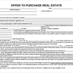 24+ Offer To Purchase Agreement Template