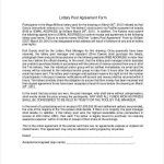 18+ Lottery Contract Template