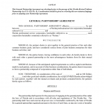 11+ Free Partnership Contract Template