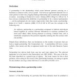 13+ Business Partnership Agreement Template Free Download