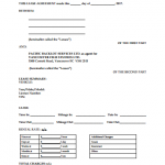 25+ Car Lease Agreement Template Free
