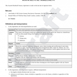 23+ Rent Room Contract Template