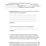 18+ Home Improvement Contract Template