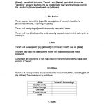 16+ Room Rental Contract Template