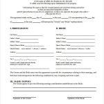 13+ Muslim Marriage Contract Template