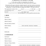 21+ Relationship Contracts Template