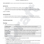 18+ Simple Loan Contract Template