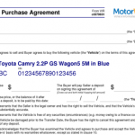24+ Car Buying Contract Template