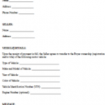 22+ Used Car Sales Contract Template
