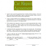 21+ Home Repair Contract Template