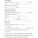 20+ Bill Of Sale Contract Template
