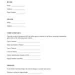 9+ Car Selling Contract Template