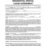 16+ Apartment Contract Template
