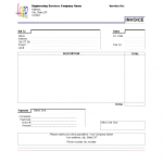 16+ Rent Invoice Template Excel