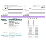 25+ Book Order Form Template Word