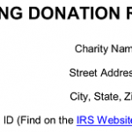 25+ Clothing Donation Form Template