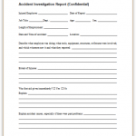 25+ Employee Investigation Form Template