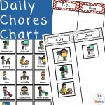15+ Chore Chart Template For Multiple Kids