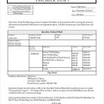 24+ Free Paystub Template Excel